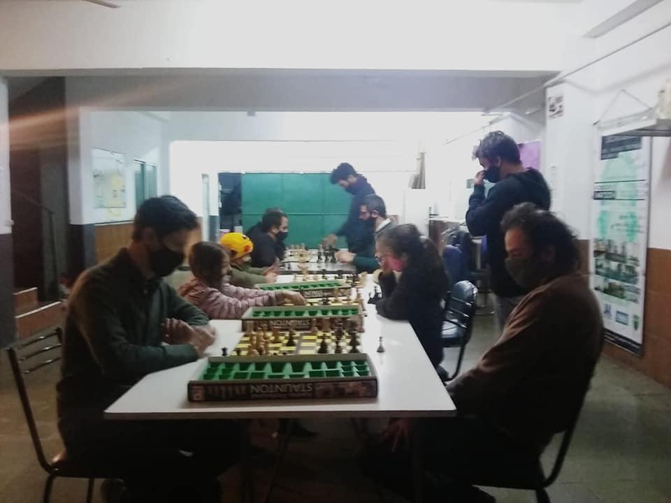 Clases de ajedrez para personas con discapacidades