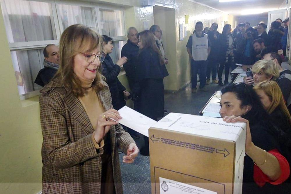 Alicia Kirchner voto Santa Cruz by NA