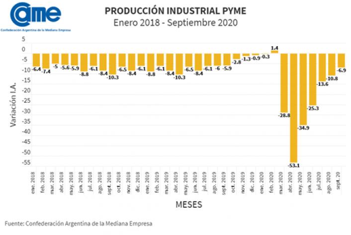 Produccion industrial CAME