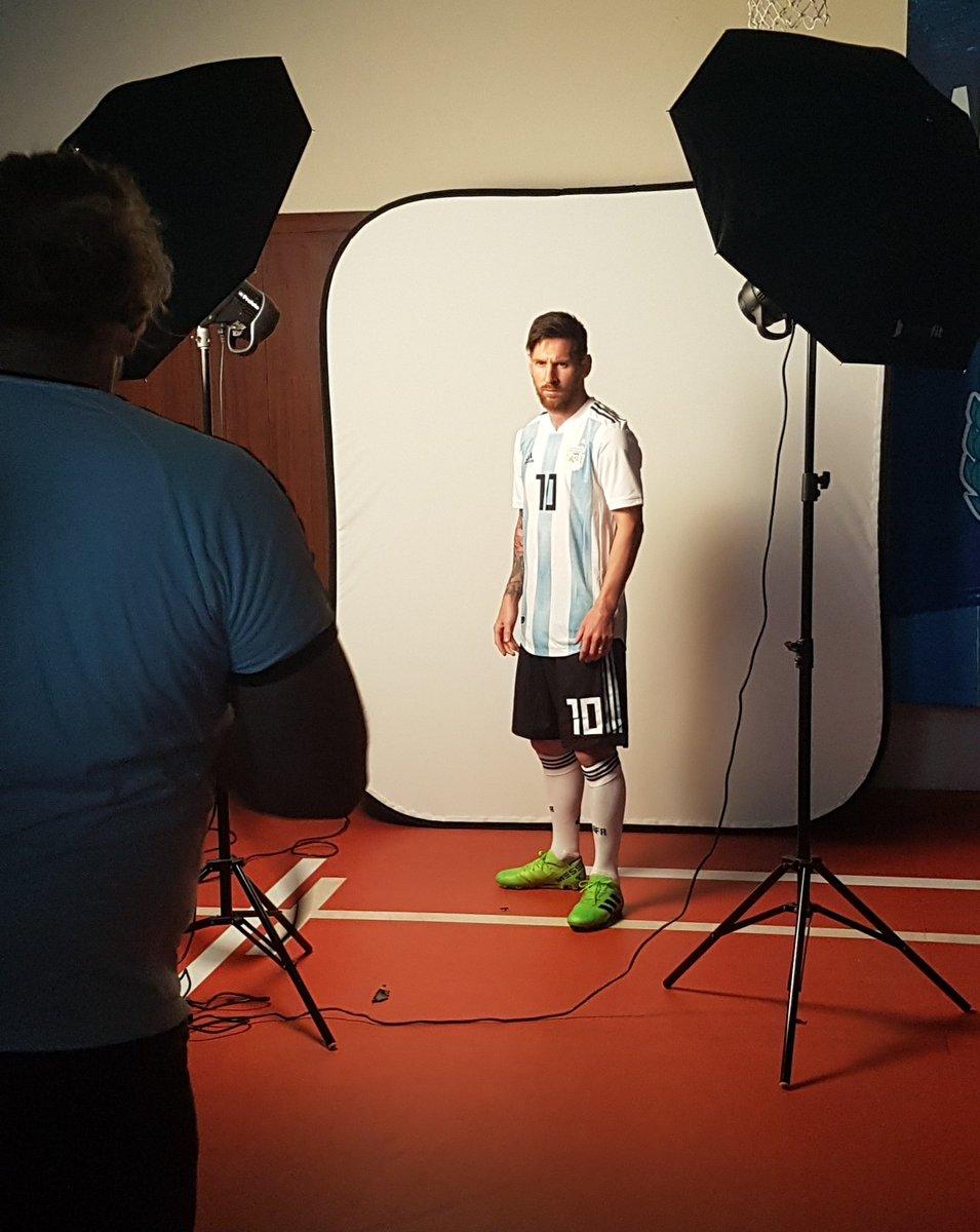 FIFA realizó la sesión fotográfica oficial de la Selección de Argentina