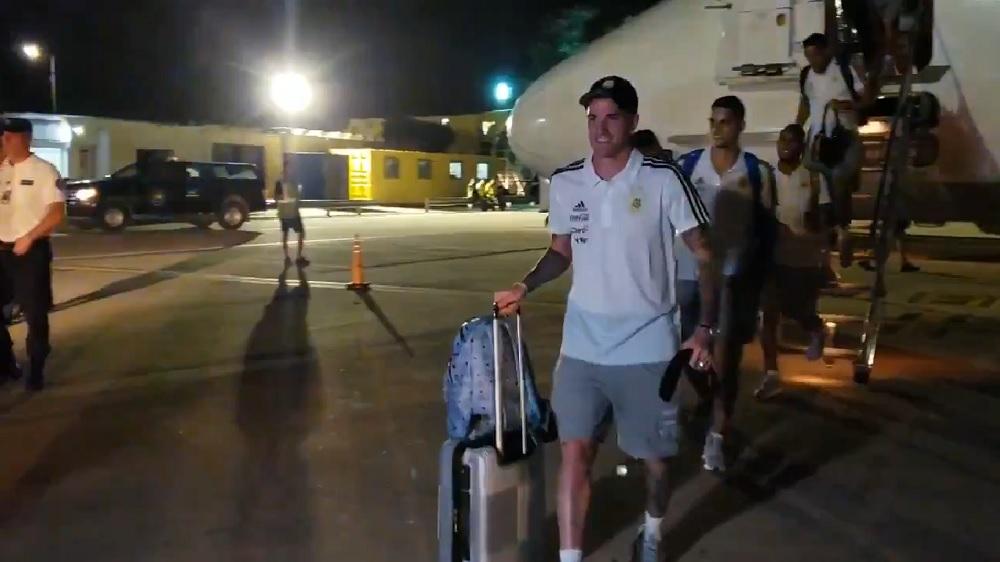 La Selección llegó a Córdoba y se prepara para enfrentar a México