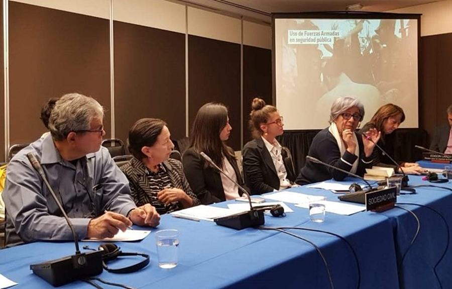 Fuerte alarma de la CIDH por el avance de militarización en América Latina