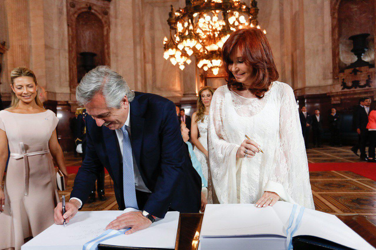 Alberto Fernández y Cristina fernández by @CFKArgentina