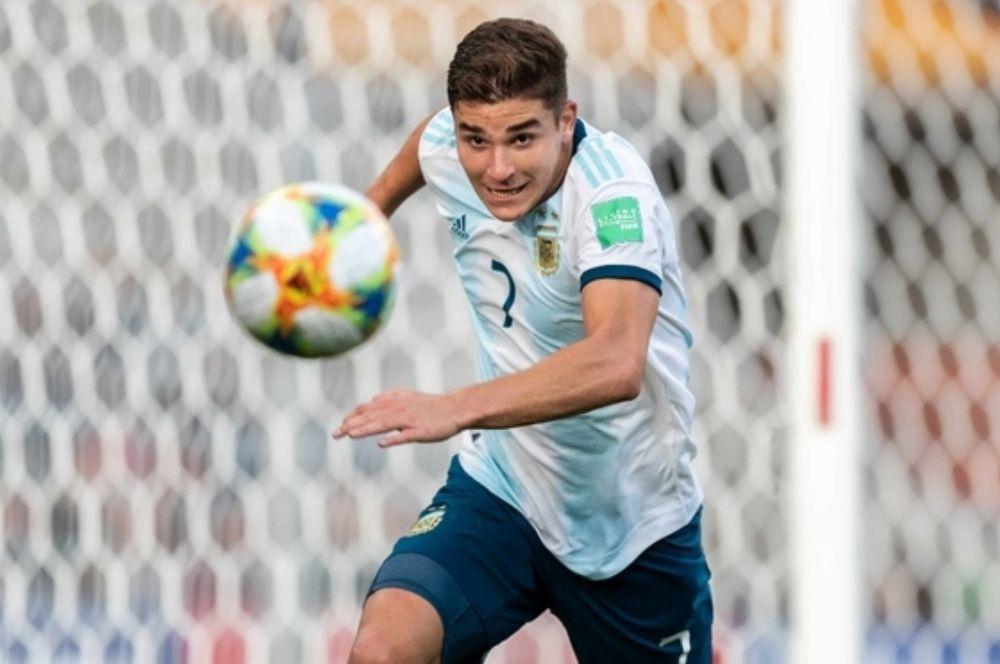 El cordobés Julián Álvarez fue convocado para disputar la Copa América