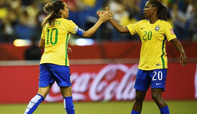 Brasil convoca a Marta y Formiga para los Juegos Olímpicos de Tokio