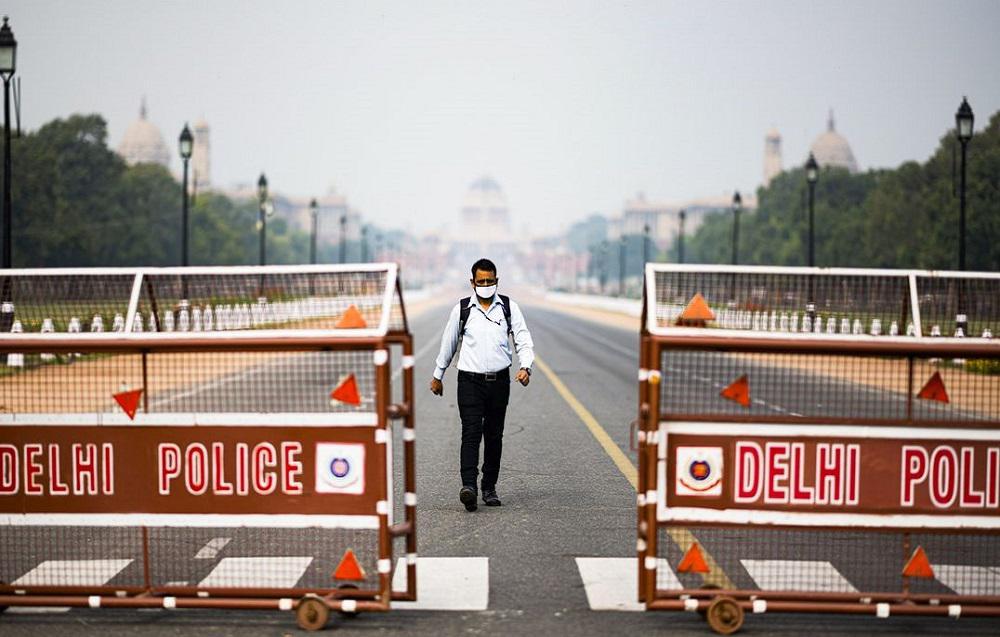 Calles desiertas en India en el primer día de cuarentena por el coronavirus