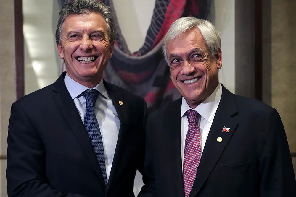 Piñera Macri © NA
