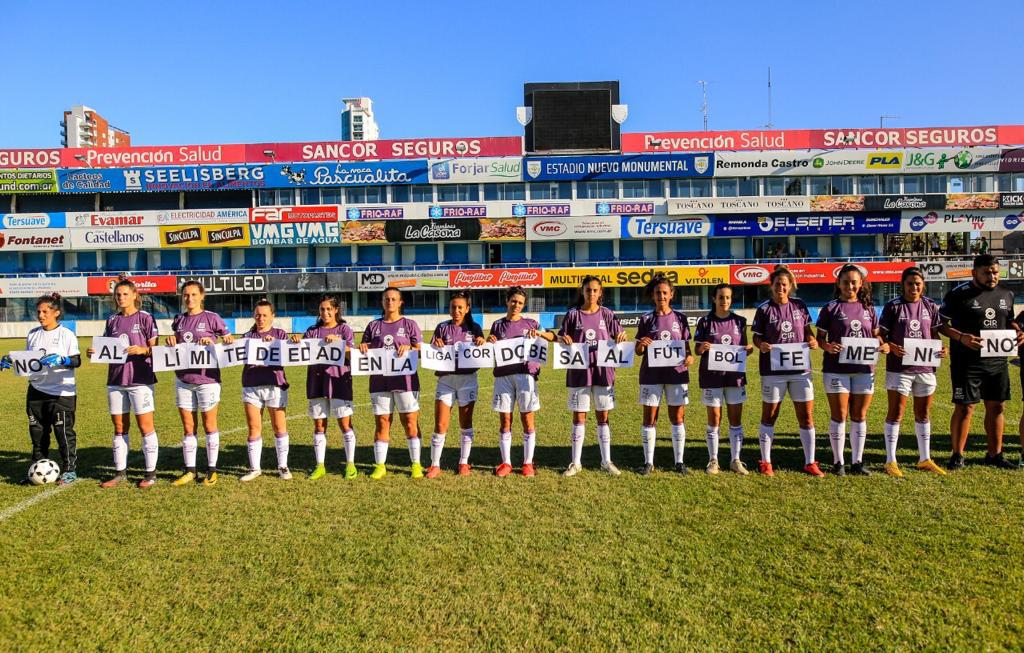 futbol femenino Córdoba en Rafaela