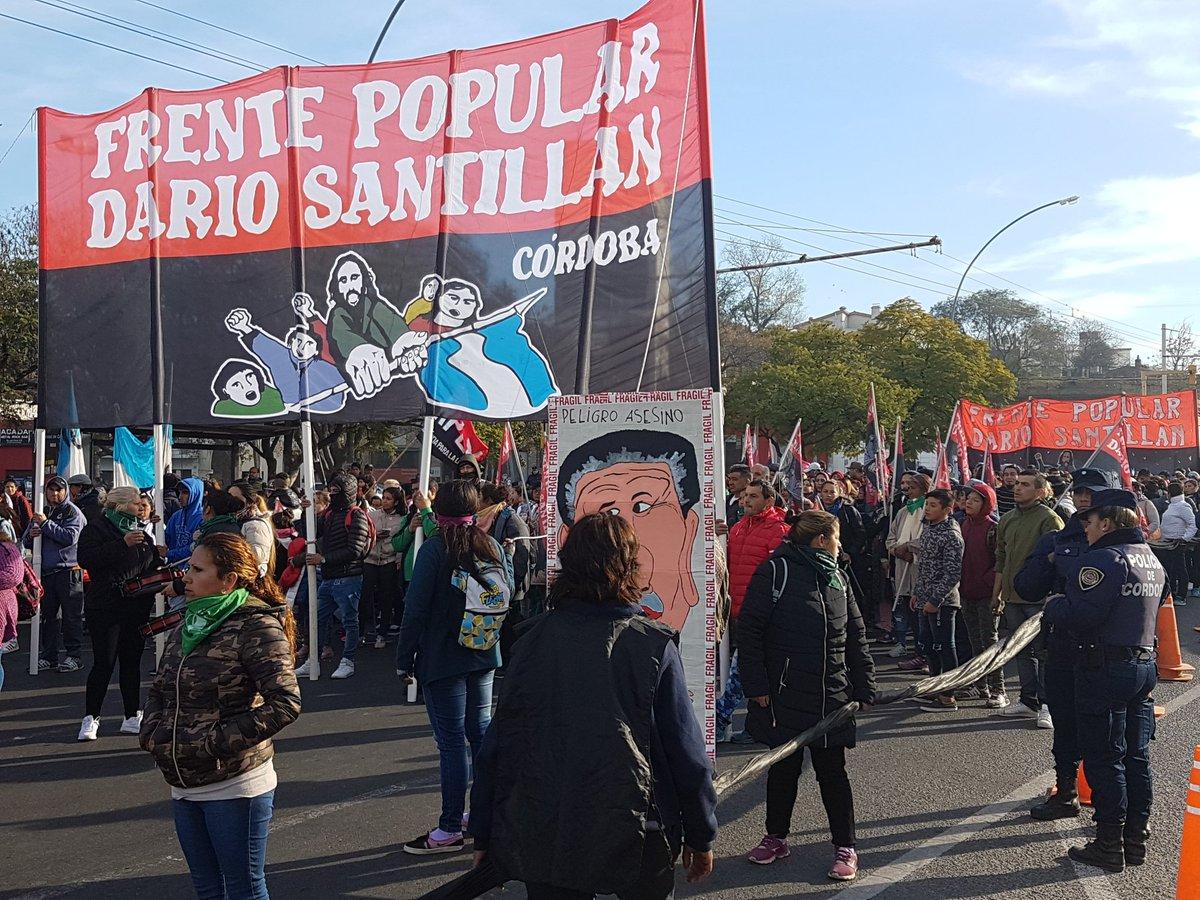 El Frente Darío Santillan se concentrará este jueves frente al Olmos - La Nueva Mañana de Córdoba
