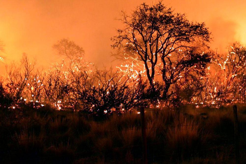 Incendio © NA