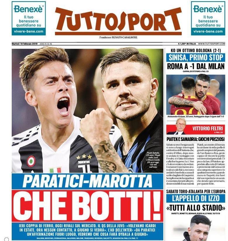 En Italia, el trueque Dybala-Inter es la atención
