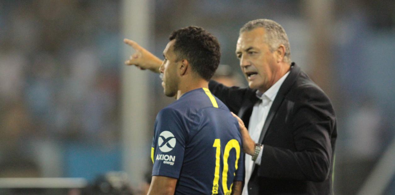 Alfaro planea un Boca con línea de cinco defensores en la final