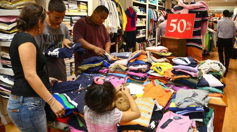 Comercio ventas de ropa