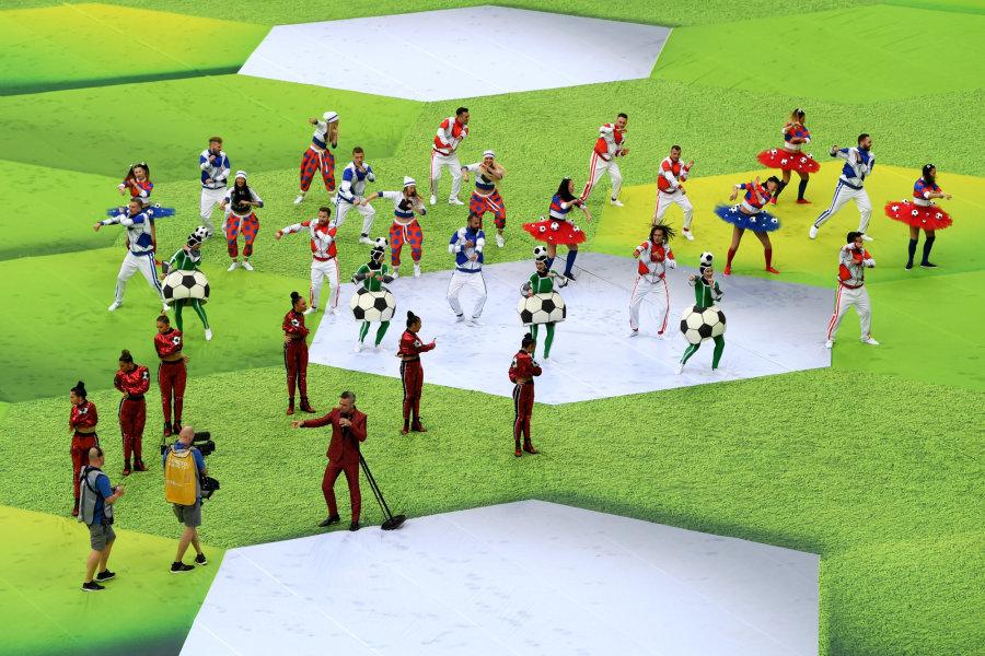 Ocho imágenes claves del primer día de la Copa del Mundo