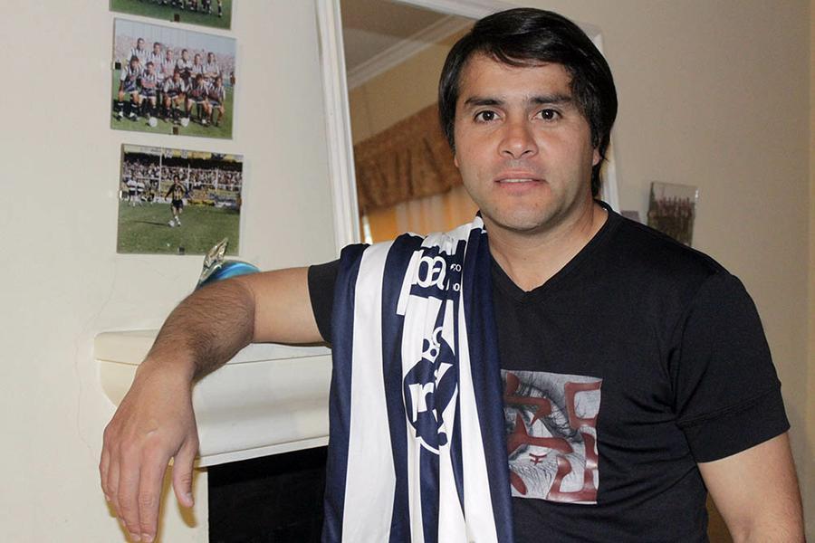 """Cristian Pino: """"El que fue futbolista camina con botines toda la vida"""""""