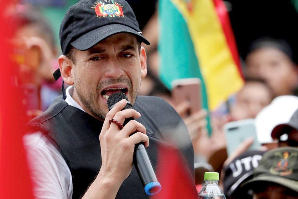 Luis Camacho anunció que se postulará a la presidencia de Bolivia