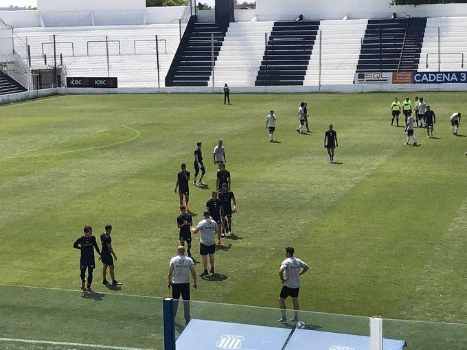 Talleres goleó este jueves a General Paz Juniors en un amistoso