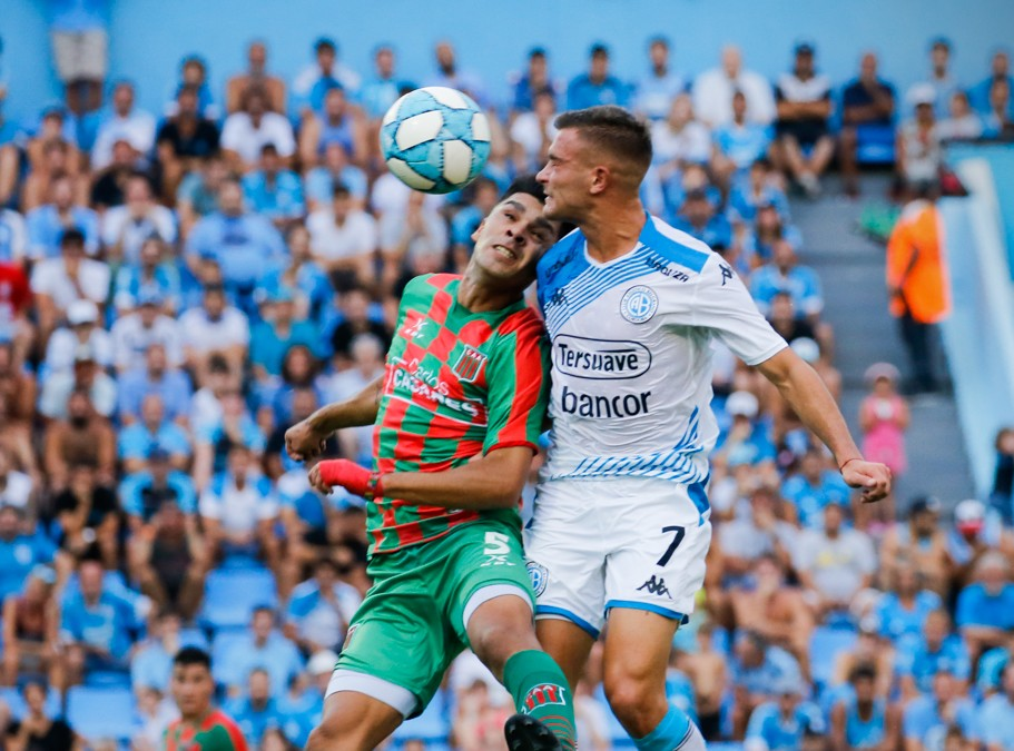 Tras la lluvia, Belgrano mejoró y terminó igualando 1 a 1 con Agropecuario