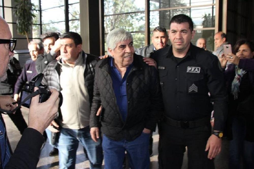 Hugo Moyano declaró este miércoles en los Tribunales
