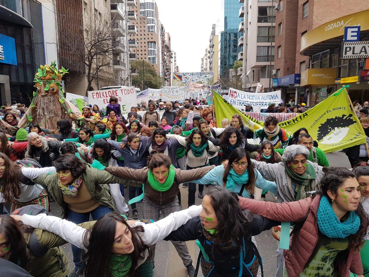 Punillazo Marcha contra la Autovía by  @efernandez2018
