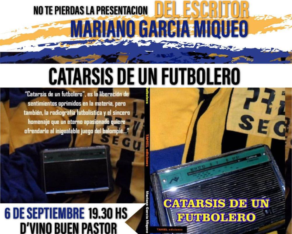 """""""Catarsis de un futbolero"""" se presenta el jueves en el Buen Pastor"""