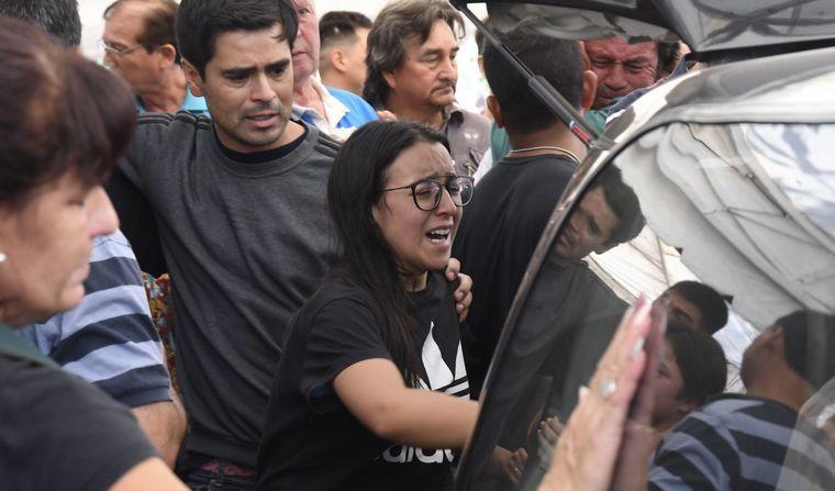 Con profundo dolor despidieron al atleta olímpico Braian Toledo en Marcos Paz
