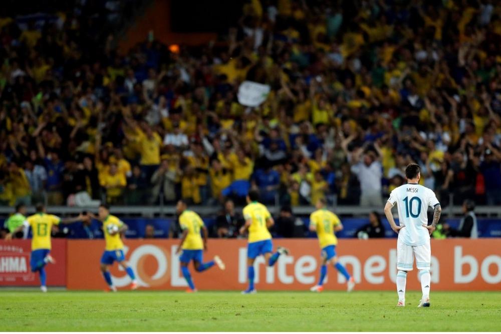 Argentina se quedó sin Copa ante Brasil, en el mejor partido del torneo