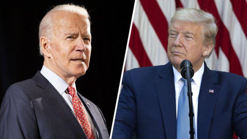 Biden Trump by NA