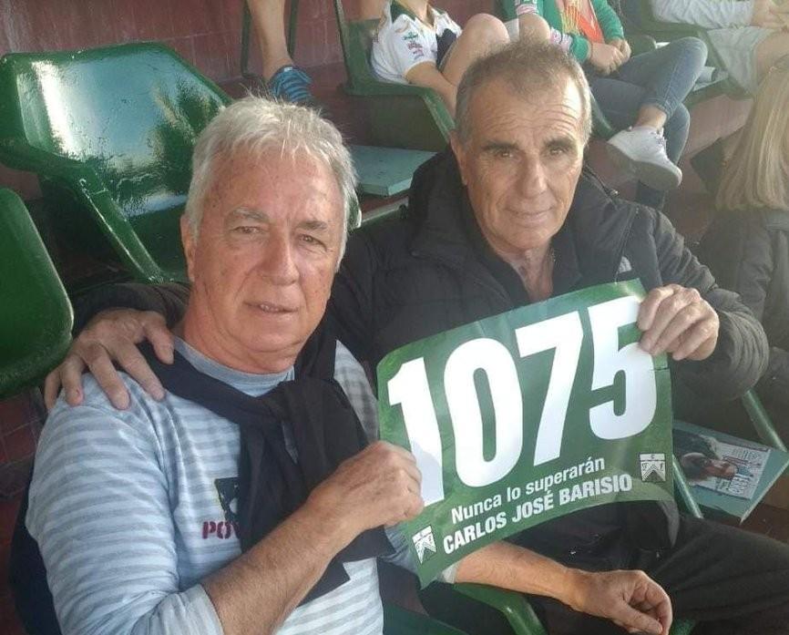 Falleció Barisio, arquero del récord invicto que rompió Bravo