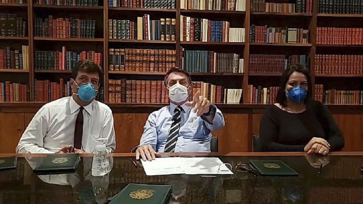 Bolsonaro ordenó el cierre de sus fronteras por la pandemia de coronavirus