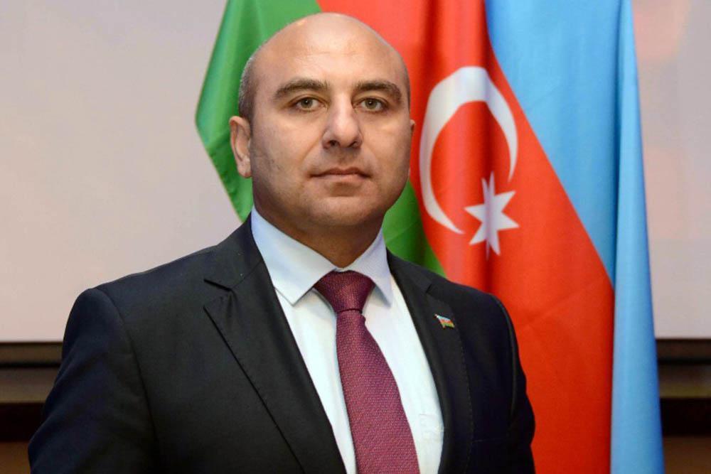 Rashad Aslanov. Embajador