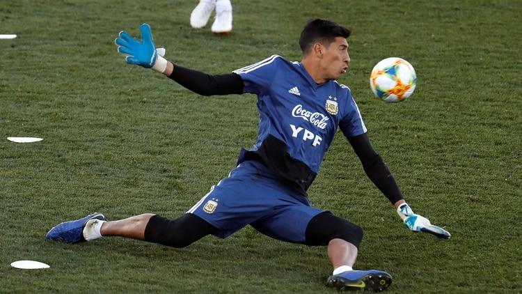 Esteban Andrada  será titular en Argentina ante Chile