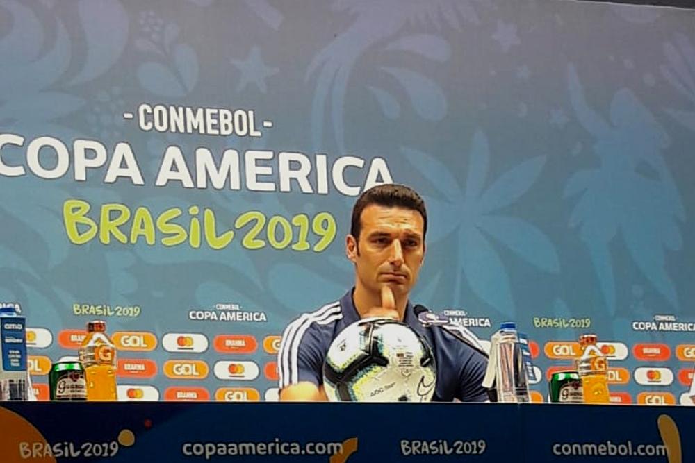 "Lionel Scaloni: ""No pesa la final perdida del mundial ahora"""