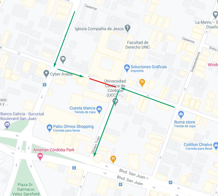 Cambios duarte quiros municipalidad de Córdoba