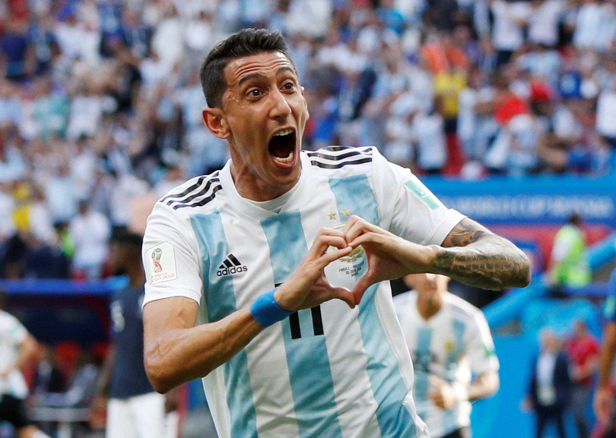 Di María reaparecería en la Selección ante Paraguay y Perú