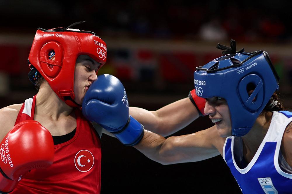 La boxeadora cordobesa Dayana Sánchez hizo historia en los Juegos Olímpicos