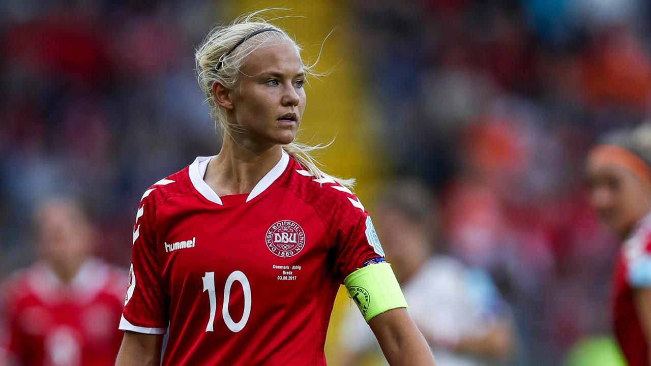 Así juega la mejor futbolista de Europa: Pernille Harder