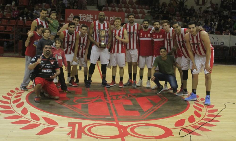 Instituto otra vez campeón del Súper 9: derrotó a Barrio Parque por 94-58