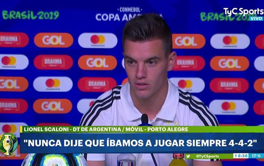 """Lo Celso: """"Tenemos la responsabilidad de defender este escudo"""""""