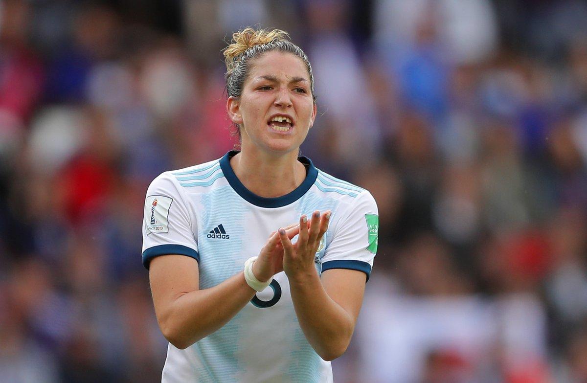 Mundial Francia 2019: Aldana Cometti dejó todo, hasta un diente, en la cancha