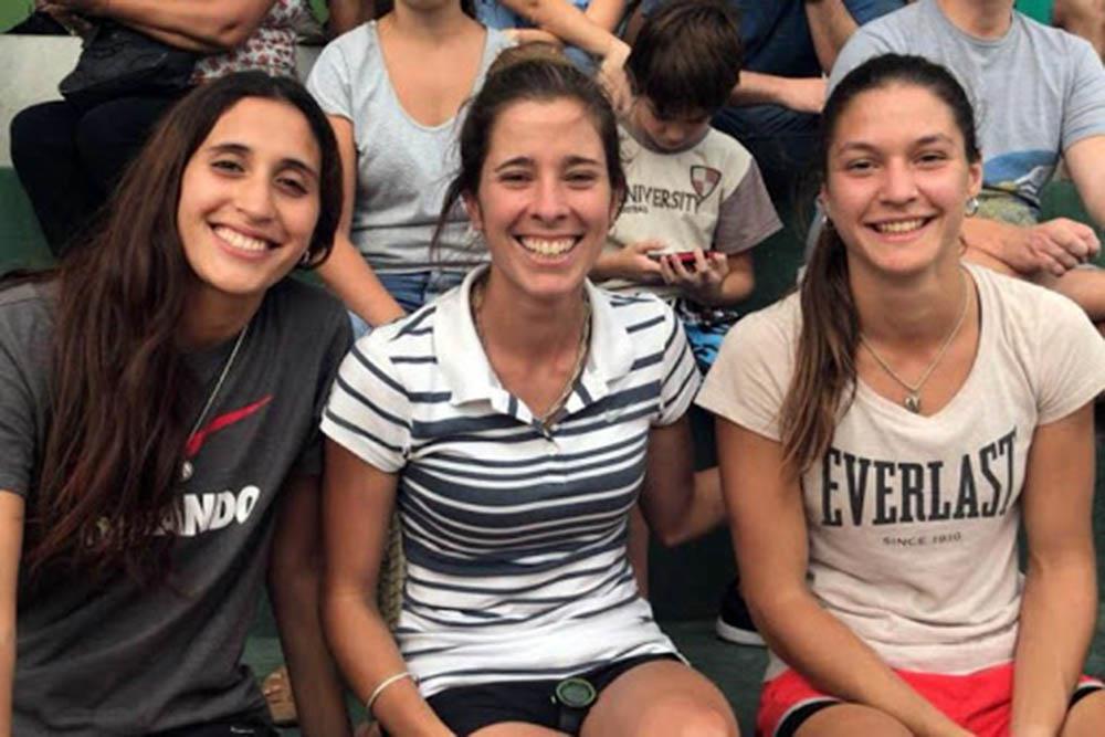 Abigail  -der-decidió crear el proyecto Más que deportista