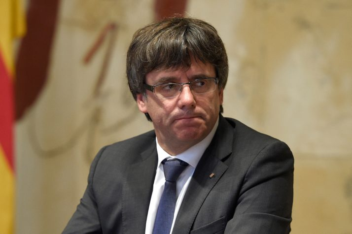 Carles Puigdemont by Getty Images