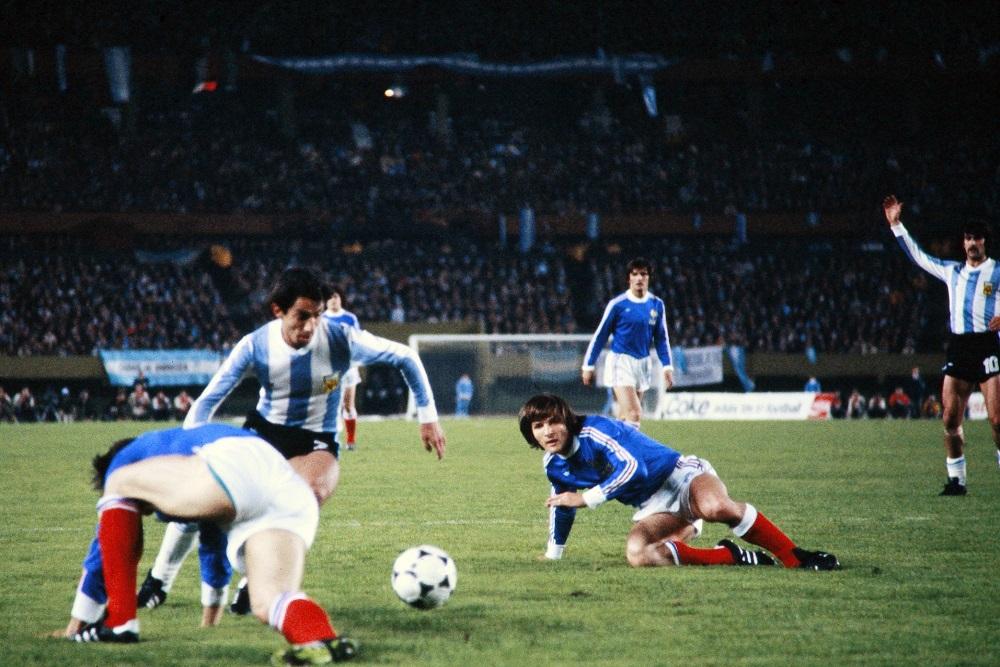 Como la primera vez, Argentina vuelve a enfrentarse a Francia en un Mundial