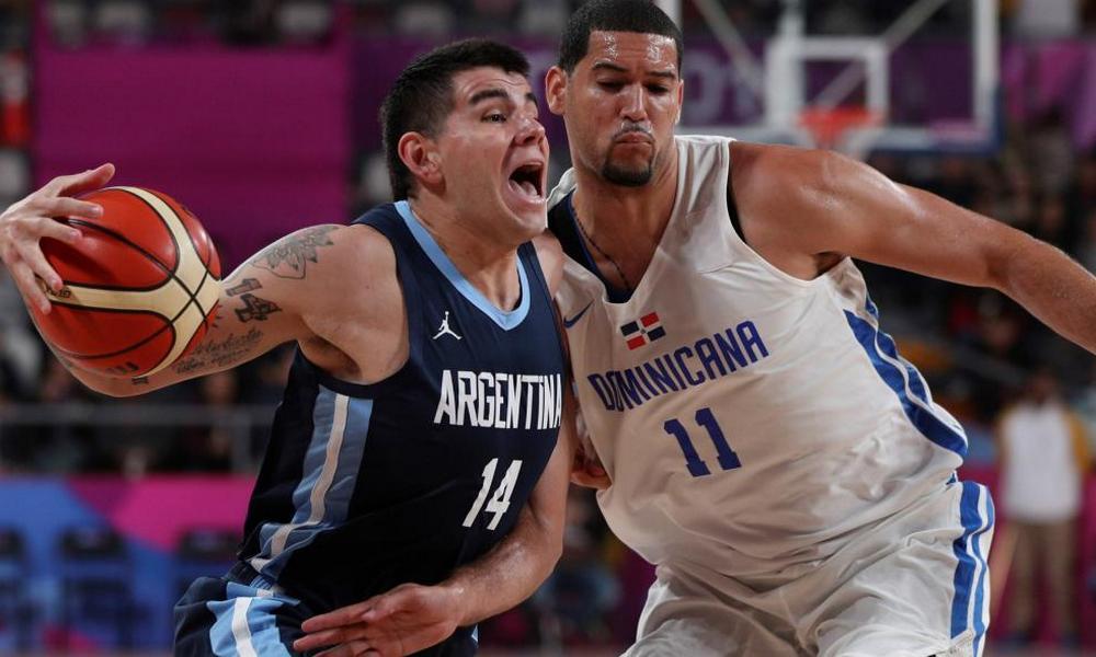 Argentina superó 102-97 a República Dominicana en tiempo extra