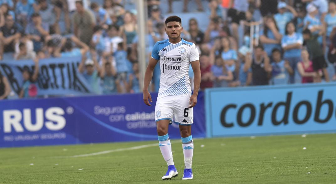 Cuatro cambios en Belgrano, con Amione ratificado