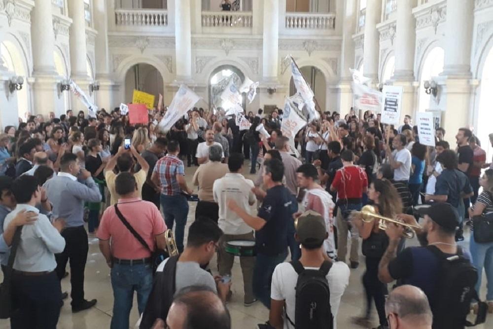 Paro judiciales by prensa AGEPJ