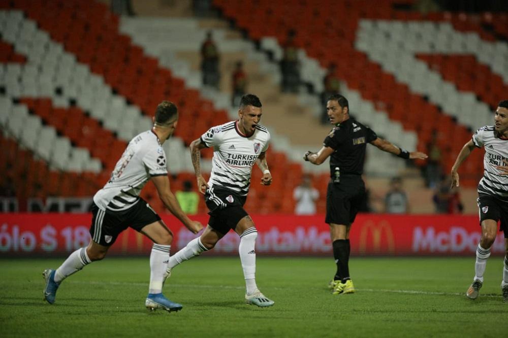 River la ganó 1 a 0 a Godoy Cruz y es el nuevo líder de la Superliga