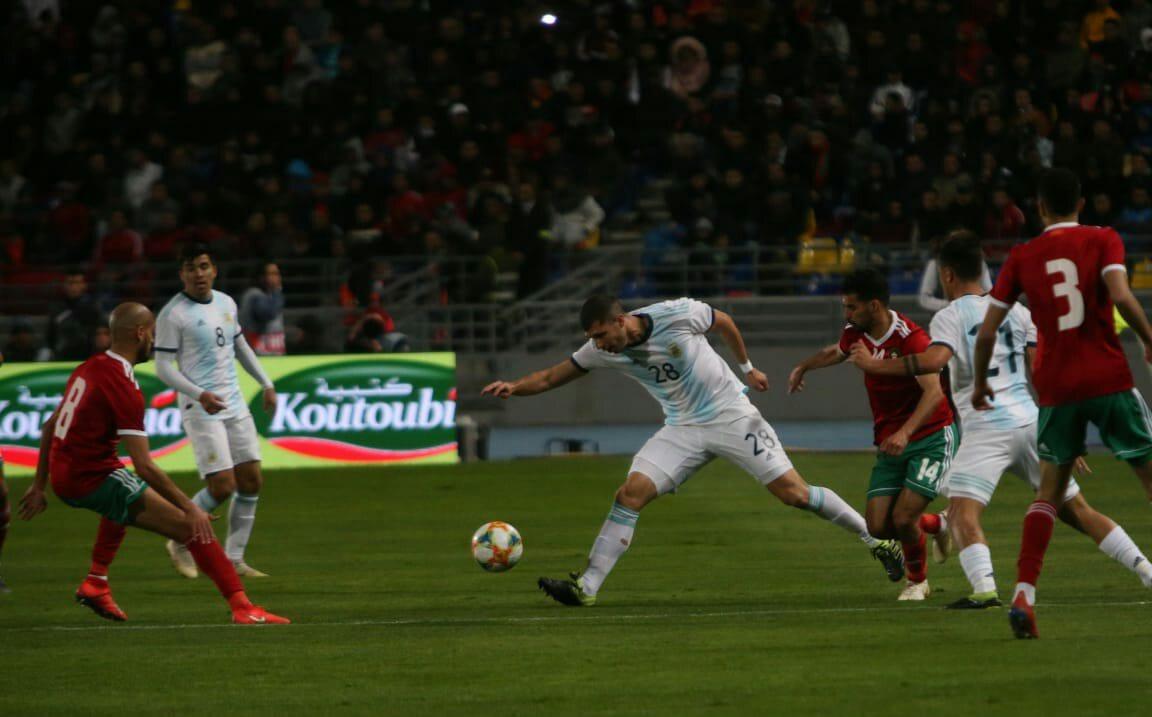 Argentina cierra una gira con un opaco triunfo ante Marruecos