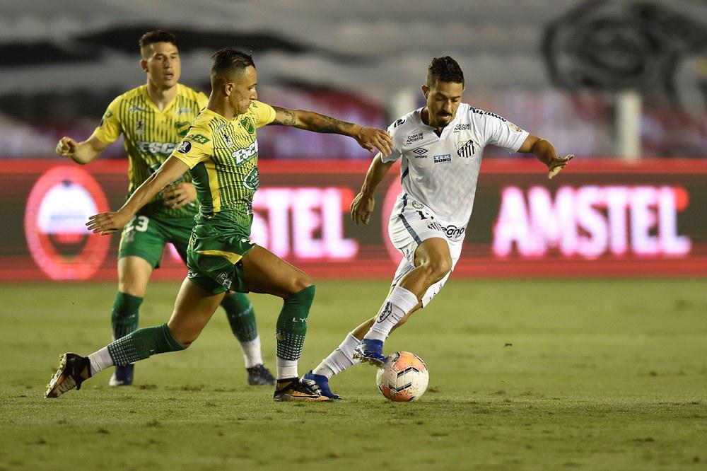 Un agónico gol de Santos dejó a Defensa y Justicia afuera de la Libertadores