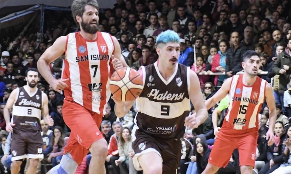 Básquetbol: San Isidro no pudo con Platense en el quinto juego final